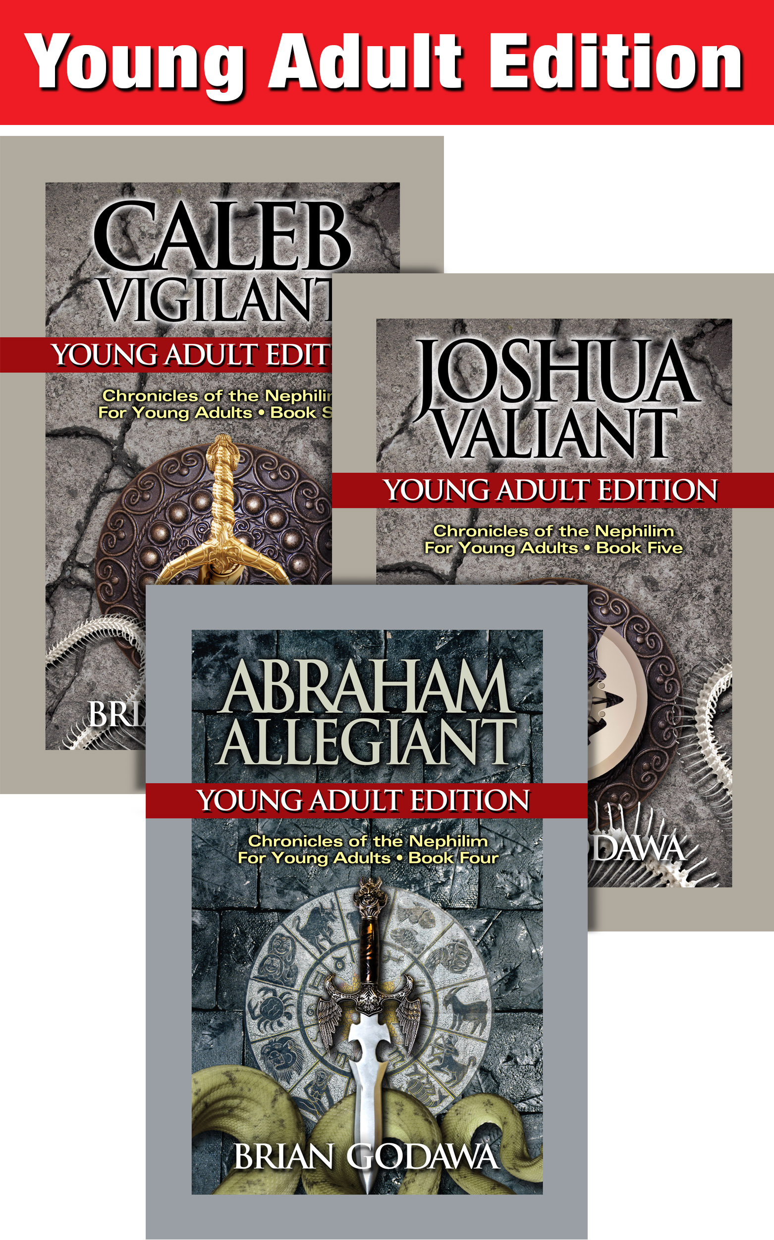 Abraham Allegiant: Young Adult Edition (Chronicles of the Nephilim for Young Adults Book 4)